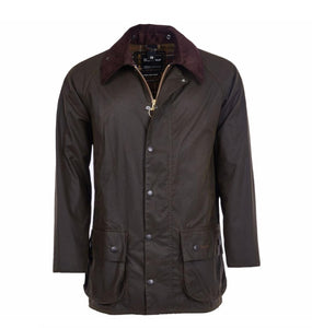 Barbour MEN - OUTERWEAR - JACKETS Barbour, Beaufort Wax Jacket, Olive