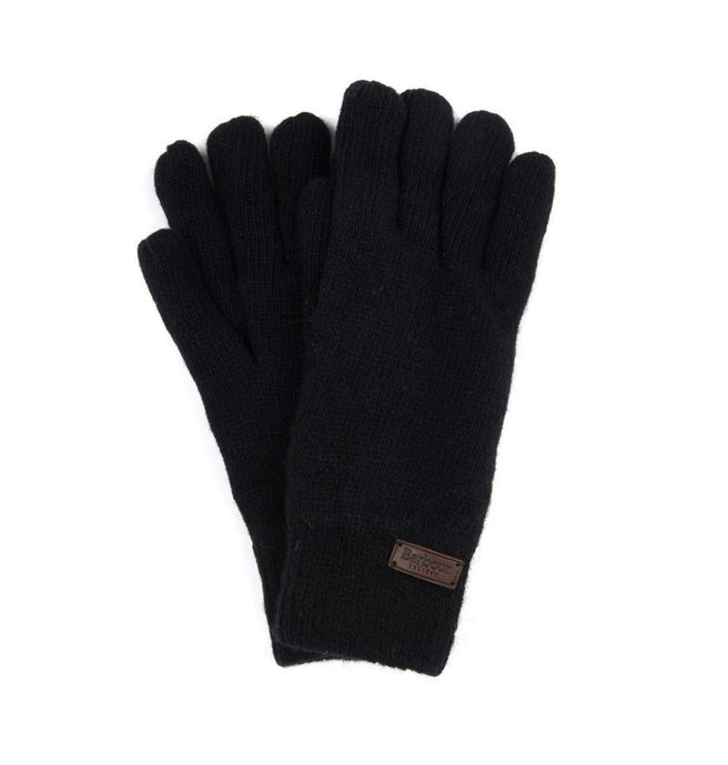 Barbour ACCESSORIES Barbour, Carlton Glove, Black