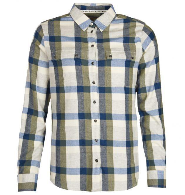 Barbour WOMEN - SHIRTS - BLOUSES Barbour, Dovedale Shirt, Olive