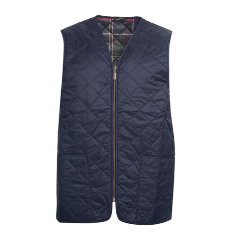 Barbour MEN - OUTERWEAR - VEST Barbour, Eaves Zip-In Liner, Navy