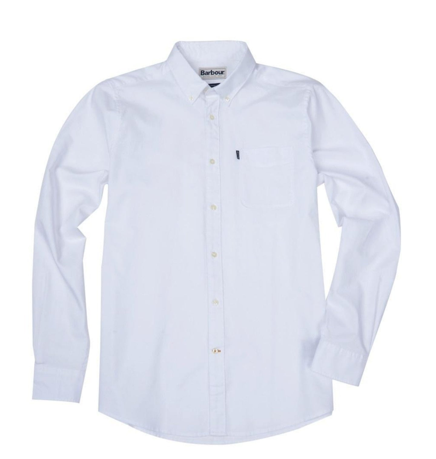 Barbour MEN - SHIRTS - BUTTON DOWNS Barbour, Endsleigh Oxford Tailored Shirt, White