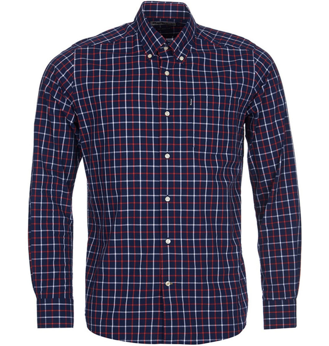 Barbour MEN - SHIRTS - DRESS SHIRTS Barbour, Henry Tailored Shirt, Navy