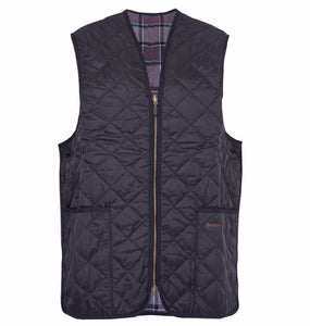 Barbour MEN - OUTERWEAR - VEST Barbour, Polarquilt Waistcoat/Zip-In Liner, Black