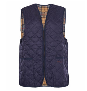 Barbour MEN - OUTERWEAR - VEST Barbour, Polarquilt Waistcoat/Zip-In Liner, Navy