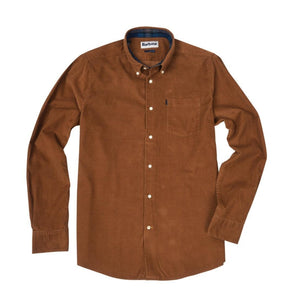 Barbour MEN - SHIRTS - BUTTON DOWNS Barbour, Stapleton Morris Cord Tailored Shirt, Sandstone