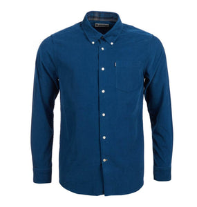 Barbour MEN - SHIRTS - BUTTON DOWNS Barbour, Stapleton Morris Cord Tailored Shirt, Teal