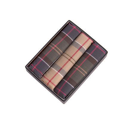 Barbour ACCESSORIES - POCKET SQUARES Barbour, Tartan Pocket Squares