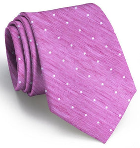 Bird Dog Bay ACCESSORIES - NECKWEAR - TIES Bird Dog Bay, Connect The Dots Tie, Fuchsia