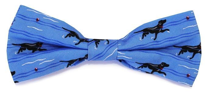 Bird Dog Bay KIDS - ACCESSORIES - NECKWARE Bird Dog Bay, Doggy Paddle Boy's Bow Tie, Blue