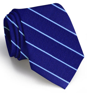 Bird Dog Bay ACCESSORIES - NECKWEAR - TIES Bird Dog Bay, Sheffield Stripe Tie, Navy/Blue