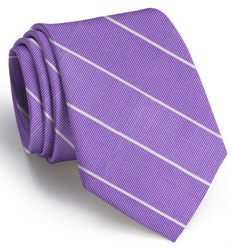 Bird Dog Bay ACCESSORIES - NECKWEAR - TIES Bird Dog Bay, Sheffield Stripe Tie, Violet