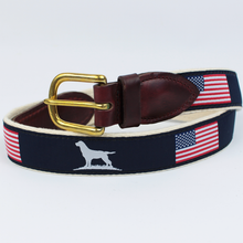 Load image into Gallery viewer, Over Under Clothing SALE Blue / 42 Over & Under, The Patriot Ribbon Belt