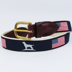 Over Under Clothing SALE Blue / 42 Over & Under, The Patriot Ribbon Belt