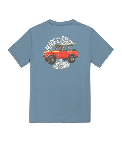 Southern Shirt SALE Blue / S Southern Shirt, Youth Beach Rover Short Sleeve T-Shirt, Captain Blue