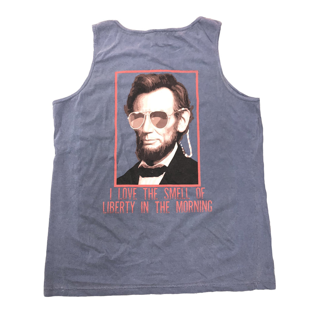 Miller's Provision Co. SALE Blue / XL Miller's Provision Co., Smell of Liberty Tank, Blue
