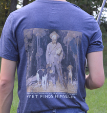 Load image into Gallery viewer, Miller's Provision Co. MEN - SHIRTS - SHORT SLEEVE T-SHIRTS Blue / XL Miller's Provision Co., The Story of Ben Lilley Short Sleeve T-Shirt, Heather Navy