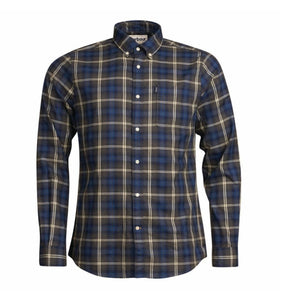 Barbour MEN - SHIRTS - BUTTON DOWNS Blue / XXL Barbour, Endsleigh Highland Check Tailored Shirt, Charcoal