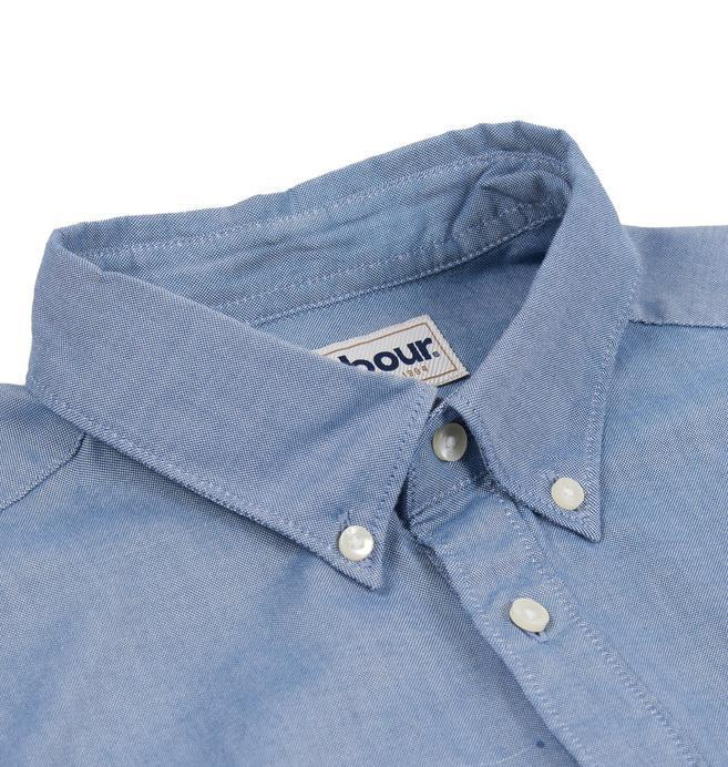 Barbour, Endsleigh Oxford Tailored Shirt, Ensign Blue