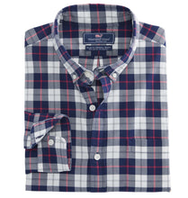 Load image into Gallery viewer, Vineyard Vines MEN - SHIRTS - BUTTON DOWNS Blue / XXL Vineyard Vines, Riverbank Plaid Slim Murray Shirt, Katama Bay