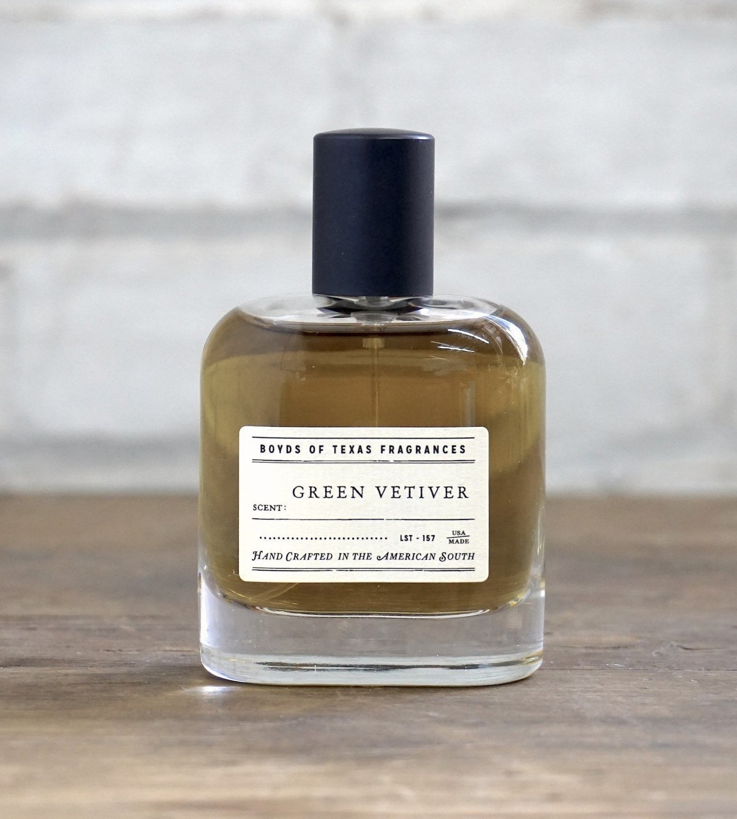 Boyd's of Texas Fragrances ACCESSORIES - GROOMING - COLONGE Boyd's of Texas Fragrances, Green Vetiver - Eau de Parfum