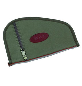 Boyt Harness Company FIELDDOG - HUNTING - GUN CASES Boyt, Heart-Shaped Handgun Case with Pockets, OD Green