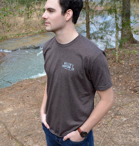 Miller's Provision Co. MEN - SHIRTS - SHORT SLEEVE T-SHIRTS Brown / M Miller's Provision Co., Trout Logo Short Sleeve T-Shirt, Heather Brown