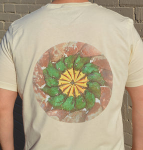 Miller's Provision Co. MEN - SHIRTS - SHORT SLEEVE T-SHIRTS Brown / S Miller's Provision Co., Wheel of Mallards Short Sleeve T-Shirt, Stone