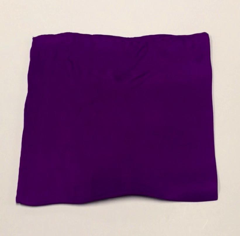 Bruno Piattelli ACCESSORIES - POCKET SQUARES Bruno Piattelli, Solid Silk Pocket Square, Purple