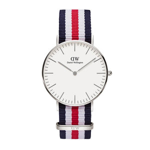 Daniel Wellington ACCESSORIES - WATCHES Daniel Wellington, Classic Canterbury 36mm, Silver