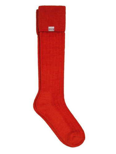 Dubarry FOOTWEAR - SOCKS - BOOT SOCKS Dubarry, Alpaca Wool Socks, Terracotta