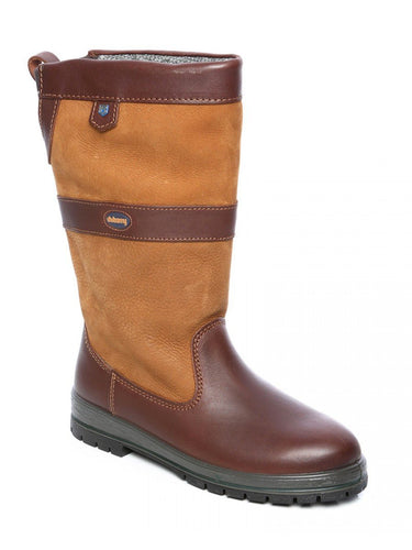 Dubarry FOOTWEAR - BOOTS Dubarry, Kildare Gore-Tex Lined Calf-Height Waterproof Leather Boot, Brown