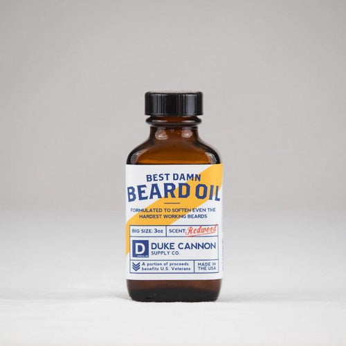 Duke Cannon ACCESSORIES - GROOMING - BEARD Duke Cannon, Best Damn Beard Oil