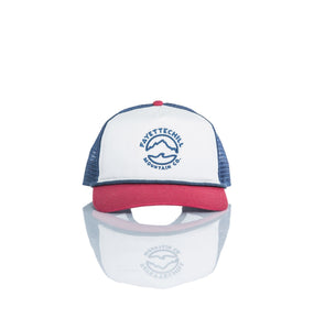 Fayettechill ACCESSORIES - HATS - TRUCKER Fayettechill, Mountain Tide Trucker, Red/Cream