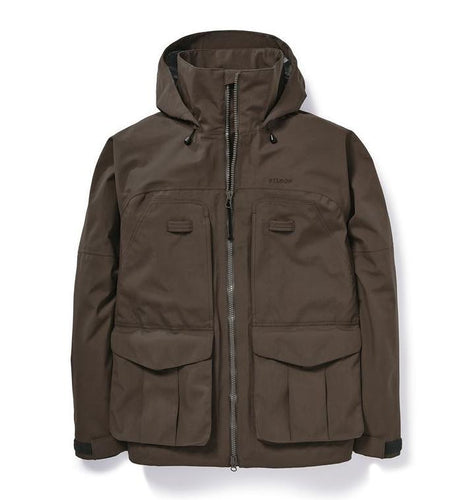 Filson MEN - OUTERWEAR - JACKETS Filson, 3-Layer Field Jacket, Brown