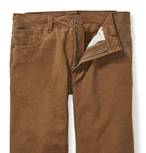 Load image into Gallery viewer, Filson MEN - BOTTOMS - FIELD PANTS Filson, Dry Tin Cloth 5 Pocket Pants, Whiskey