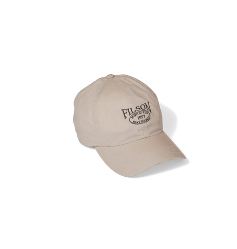 Filson ACCESSORIES - HATS - BASEBALL Filson, Lightweight Angler Cap, Desert Tan