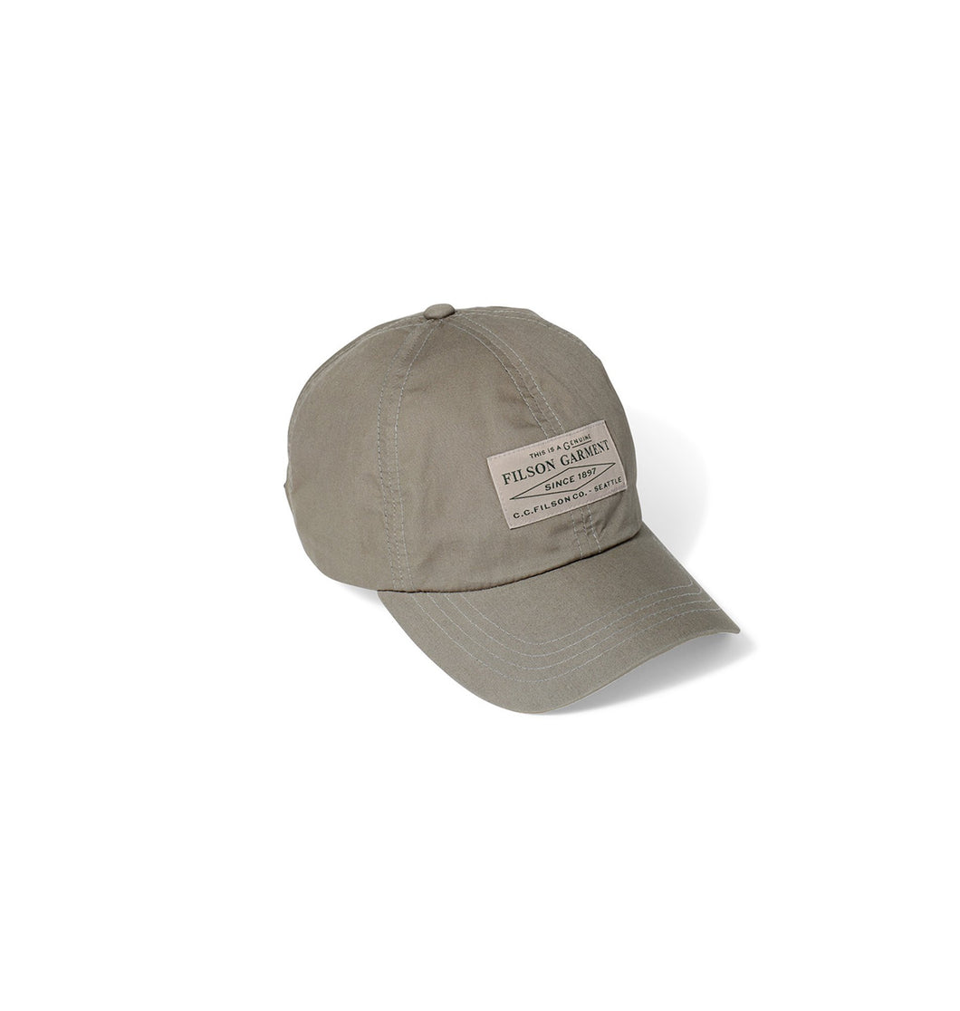 Filson ACCESSORIES - HATS - BASEBALL Filson, Lightweight Angler Cap, Light Olive