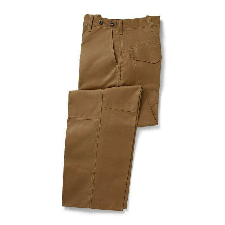 Filson MEN - PANTS - FIELD PANTS Filson, Oil Finish Double Tin Pant, Dark Tan