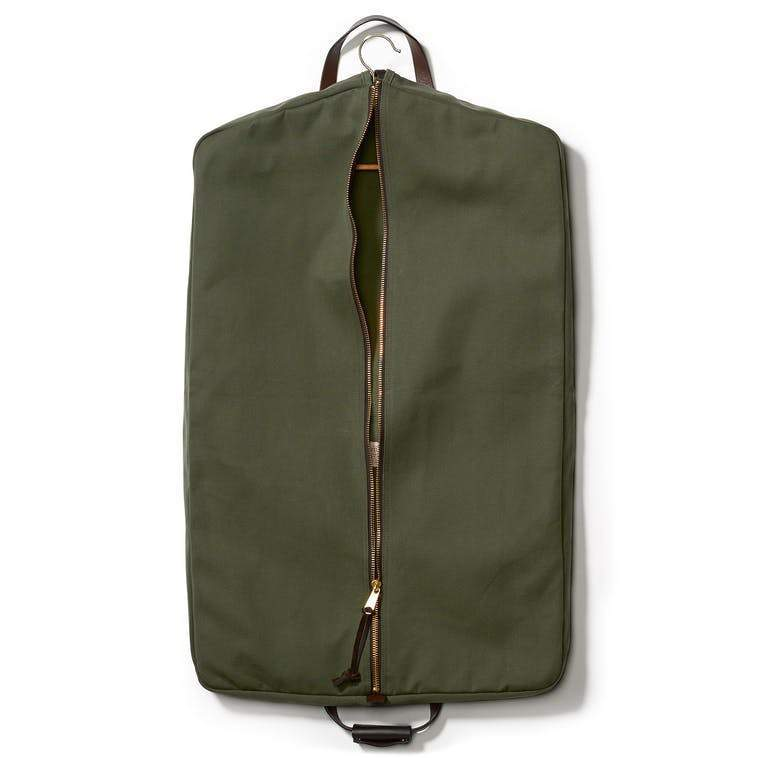 Filson ACCESSORIES - TRAVEL - GARMENT BAG Filson, Rugged Twill Suit Cover, Otter Green