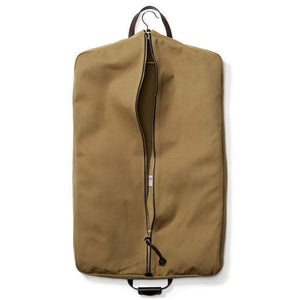 Filson ACCESSORIES - TRAVEL - GARMENT BAG Filson, Rugged Twill Suit Cover, Tan