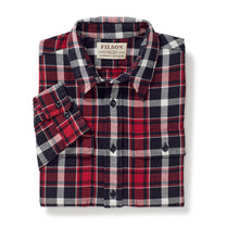 Filson MEN - SHIRTS - BUTTON DOWNS Filson, Scout Shirt, Red/Black/White