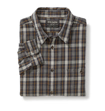 Load image into Gallery viewer, Filson MEN - SHIRTS - BUTTON DOWNS Filson, Wildwood Shirt, Black/Gold/White