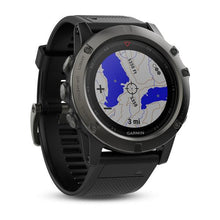 Garmin ACCESSORIES - WATCHES Garmin, Fenix 5X, Slate Gray Sapphire with Black Band