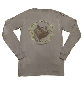 Miller's Provision Co. SALE Gray / XL Miller's Provision Co., Christmas Dinner Long Sleeve T-Shirt, Gray