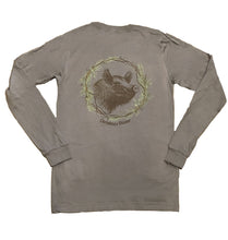 Load image into Gallery viewer, Miller's Provision Co. SALE Gray / XL Miller's Provision Co., Christmas Dinner Long Sleeve T-Shirt, Gray