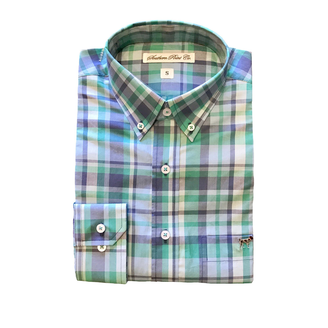 Southern Point Co SALE Green / M Southern Point, Youth Hadley Shirt, Y:SPC-238