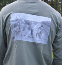 Load image into Gallery viewer, Miller's Provision Co. MEN - SHIRTS - LONG SLEEVE T-SHIRTS Green / XXL Miller's Provision Co., Texas Dove Hunt 1961, Military Green