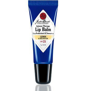 Jack Black ACCESSORIES - GROOMING - LIP BALM Jack Black, Intense Therapy Lip Balm SPF 25 with Lemon & Shea Butter