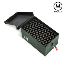Load image into Gallery viewer, M Grills HOME - KITCHEN - GRILL M Grills, C4 Portable Grill, Forest Green