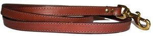 Miller's Point FIELDDOG - DOG - DOG LEASH Miller's Point, 6' Leather Leads, Chestnut